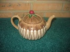 Vintage Enesco made in Japan called Wild Cherry.  I have this plus the creamer & sugar bowl.