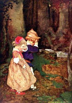 Hansel and Gretel - Illustrator: Jessie Willcox Smith
