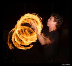 Photographing Fire Dancers – Part 2 Fire Dancer, Spinning, Dreadlocks, Hair Styles, Beauty, Beleza, Dreads, Hand Spinning, Hair Looks