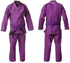 Purple BJJ gi. For when I'm a higher belt...