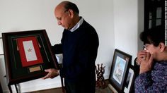 The Army gave the Khans a Gold Star Banner after their son, Capt. Humayun Khan, was killed in a suicide bombing in Iraq on June 8, 2004.