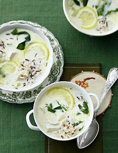 Zitronen-Hühnersuppe - Rezepte - [LIVING AT HOME]