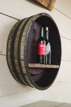 Wine Barrel Shelf                                                                                                                                                     More