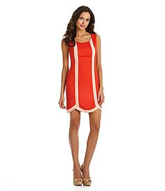 Gianni Bini Nathan Scalloped Dress #Dillards