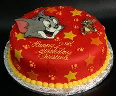 Tom & Jerry Birthday Cake