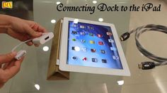 MX has come up with a new video known as How to Connect the new iPad & iPad 2 & iPhone 4S to TV using VGA & HDMI & Composite AV Cable. In this video you can see, MX has come up with new Docks for your iPad,the new iPad & iPad 2 & iPhone 4S. Now you can connect your iPad, the new iPad & iPad 2 & iPhone 4S to your HD Compatible TV with a HDMI to Dock Cable.