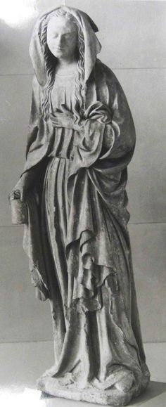 Saint Mary Magdalen loves much because she was forgiven much. Catholic Art, Religious Art, Santa Maria, Gardens Of Stone, Statues, Mary Magdalene, John The Baptist, Louvre, Sacred Art