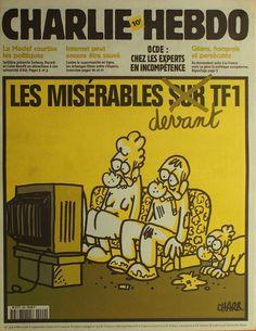 Charlie Hebdo - N° 429 - Mercredi 6 Septembre 2000 - Couverture de Charb