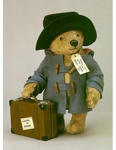 I loved Paddington Bear when I was a kid.
