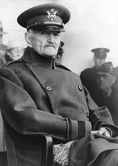 """General """"Blackjack"""" Pershing. Pershing rightfully emerged as the most celebrated American hero of the war. Congress honored him by creating a new title, General of the Armies, and he served as Chief of Staff from 1921 to 1926."""