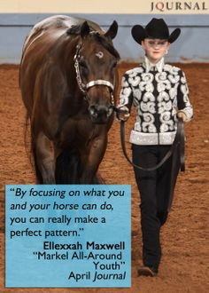 Congrats to #AQHYA member Allexxah Maxwell on becoming Markel's 2013 All-Around Youth! Read about Allexxah and all of the other year-end winners in this month's Journal and bonus High-Point supplement for FREE! #AQHAJournal #AQHAProud #horseshowing aqha.com/journalarchives