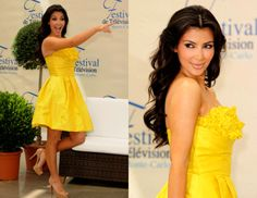 Kardashian. I love yellow