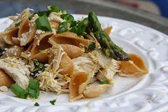Mix and Match Mama: Dinner Tonight: Lemon & Asparagus Chicken Pasta