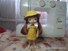 Готовь сани летом -2. Мастер-класс по пошиву сарафана и панамы для Пукифи и других малышек 15см / Мастер-классы, творческая мастерская: уроки, схемы, выкройки кукол, своими руками / Бэйбики. Куклы фото. Одежда для кукол
