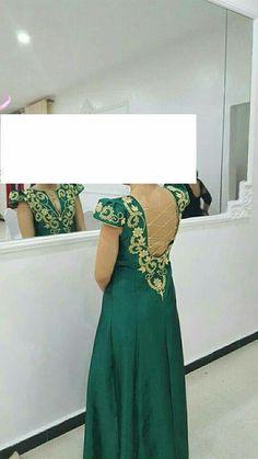 Traditional Fashion, Traditional Outfits, Kaftan Abaya, Arabic Dress, Embroidery On Clothes, Chiffon Evening Dresses, Designs For Dresses, New Fashion, Womens Fashion
