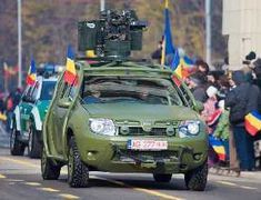 Army Guide - information about the main battle tanks, armoured vehicles and armament of the land forces and also the information concerning other army subjects - Dacia Duster Army, Armoured car, Armoured Vehicles Megane Scenic, Off Road Adventure, Battle Tank, Armored Vehicles, Offroad, 4x4, Army, Jeeps, Model Car