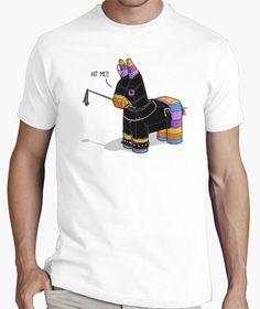 Hit me by Naolito // Shop now: http://www.latostadora.com/web/hit_me/704608 #amazingtees #artclothes
