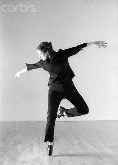 Dancer Cintia Chamecki Tap Dancing