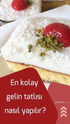Muhallebili tatlılar arasında en sevilen tatlılar olan gelin tatlısı tarifi vatandaşların merak ettiği konulardan biri. Yumuşak dokulu keki ve lezzetli muhallebisiyle ağızda güzel bir tat bırakan gelin tatlısı oldukça hafif bir tatlı olarak bilinmekte. Peki gelin tatlısı nasıl yapılır? İşte püf noktalarıyla gelin tatlısı malzemeleri ve tarifi yemek tarifler...