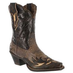 Ariat Women's Dahlia New West Western Shorty Boots