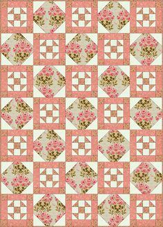 Philadelphia Pavement Quilt Block Pattern  By Janet Wickell, About.com Guide
