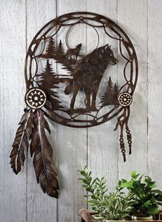 Dreamcatcher Wall Art   Southwest Home by Collections Etc.