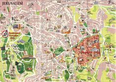 Map of the Jerusalem
