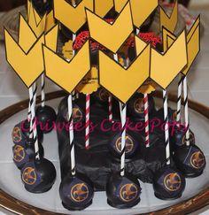 Hunger games cake pops