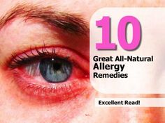 how to stop allergies naturally