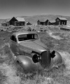 Abandoned Car, Bodie, CA by Pat Corrigan, via Flickr