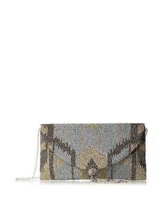 Tasseled Envelope Clutch
