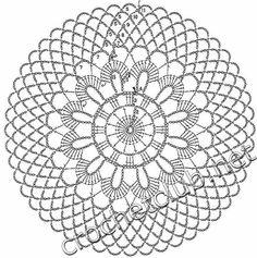 Crochet Art: Crochet Doilies Free Patterns - Beautiful Small Doilies Knitting ProjectsCrochet For BeginnersCrochet PatronesCrochet Amigurumi Free Crochet Doily Patterns, Crochet Coaster Pattern, Crochet Motifs, Crochet Diagram, Crochet Art, Crochet Round, Crochet Squares, Crochet Home, Thread Crochet