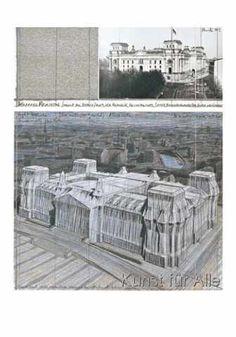 Christo und Jeanne-Claude - Reichstag V