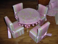 Homemade Barbie Furniture | Barbie Furniture                                                                                                                                                                                 More