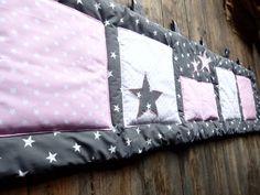 Kapsář za postel...hvězdné nebe..růžové - 200x50cm / Zboží prodejce šmiklenka   Fler.cz Sewing For Kids, Montessori, Bed Pillows, Pillow Cases, Pillows
