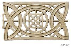 Geometric Knot - Sullivan 6  1/2H - 3/16Relief 8440