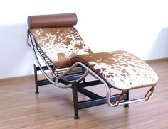 Lc4 Chaise Lounge In Brown And White - Buy Lc4 Chaise Lounge,Le Corbusier,Bauhaus Furniture Product on Alibaba.com