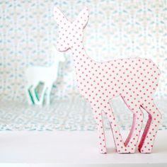 Make your Own-Polka dot deer by toriejayne.