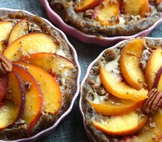 No-Cook Farmers Market Peach Cobbler is a great recipe for the health-conscious. It requires a few ingredients like mesquite powder and agave nectar that might be found in a local health-food store. You can savor the delicious richness of this dessert guilt free, knowing you're doing your body a favor. #GottoBeNC