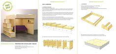 New DIY design double loft 'Carlos'! | nieuw ontwerp 2P hoogslaper, nu beschikbaar op onze website. (for now only Dutch version available)