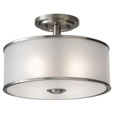 Casual Luxury Semi-Flushmount by Feiss