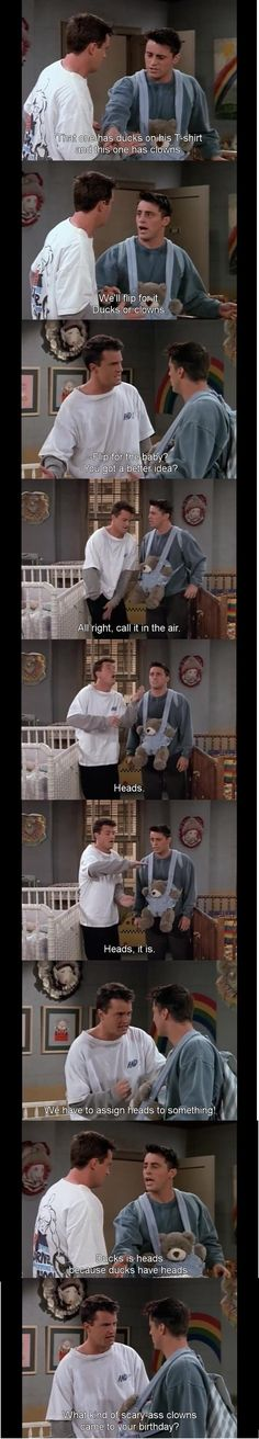 Funny pictures about The faultless logic of Joey Tribbiani. Oh, and cool pics about The faultless logic of Joey Tribbiani. Also, The faultless logic of Joey Tribbiani. Friends Tv Show, Serie Friends, Friends Moments, I Love My Friends, Friends Forever, Friends Scenes, Chandler Friends, Friends Cast, Friends Season