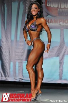 Mallory Haldeman (the winner,figure) (2013 IFBB Pro Bodybuilding Weekly,Tampa)  Thighs. :)
