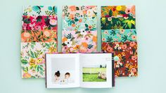 Floral Photo Books   They'll no longer be the hardest people to shop for with this hit list