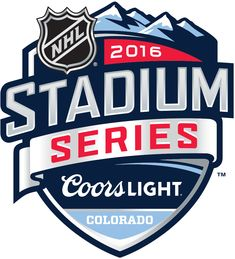 NHL Stadium Series Primary Logo - 2016 NHL Stadium Series - Colorado Avalanche VS Detroit Red Wings at Coors Field in Denver, Colorado on February Hockey Logos, Nhl Logos, Sports Brand Logos, Banks Logo, Cup Logo, Event Logo, Esports Logo, Sports Marketing, Bold Logo