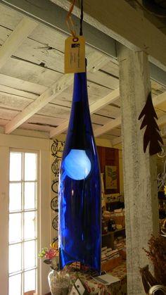 love blue bottles...