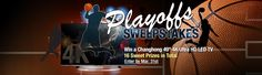 """NeweggFlash Playoffs Sweepstakes! Enter for a chance to win a Changhong 49"""" 4K Ultra HD TV and many more prizes!"""
