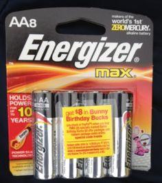Energizer Rebate