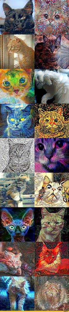 коты,нейронные сети,длиннопост,ostagram,манул