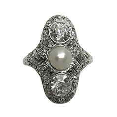 I like this ring.  From 1stdibs.com